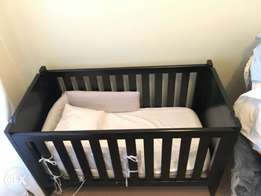 Baby cot and mattress for Sale