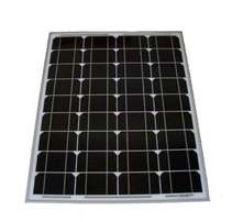 40 WATT Monocrystalline Solar Panel