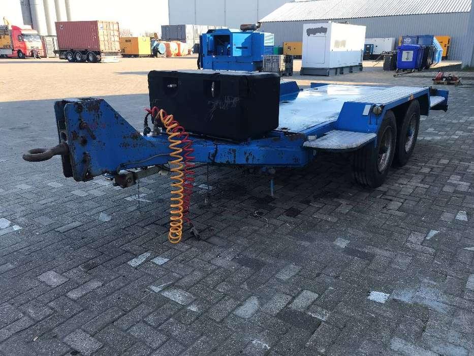 Miloco Heavy 5 Ton used Trailer - DPX-99059 - 1993 - image 3