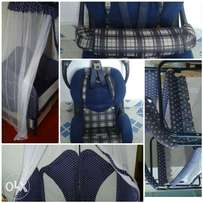 Quick Sale, Baby Cot 13,000/- and Baby Car Seat 8,000/-