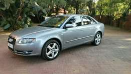 2006 A4 Audi 1.8 T in a perfect Condition with A/C.