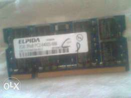 DDR2 Laptop Memory Quick Sale (2GB)