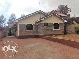 Elegant 3 bedroom bungalow in Ngong