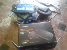 PS VITA in box with accessories slightly used