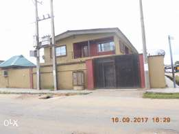 Block of 4(no) 3bedroom flat at oko Oba for sale