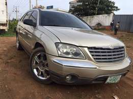 Registered Clean Chrysler Pacifica of 08 with smooth engine