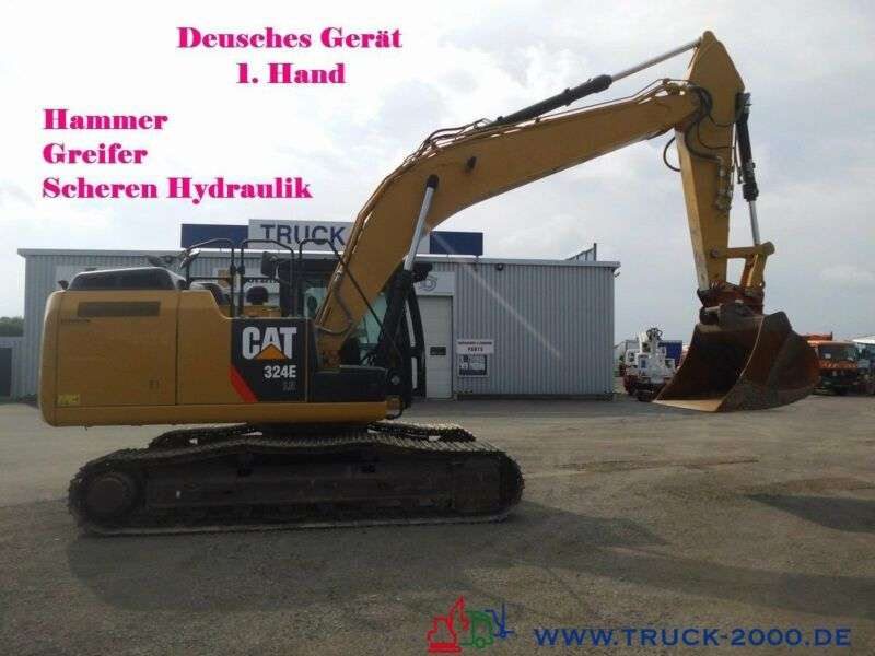 Caterpillar 324 ELN Schnellwechs. Hammer Greifer Hydr. - 2013