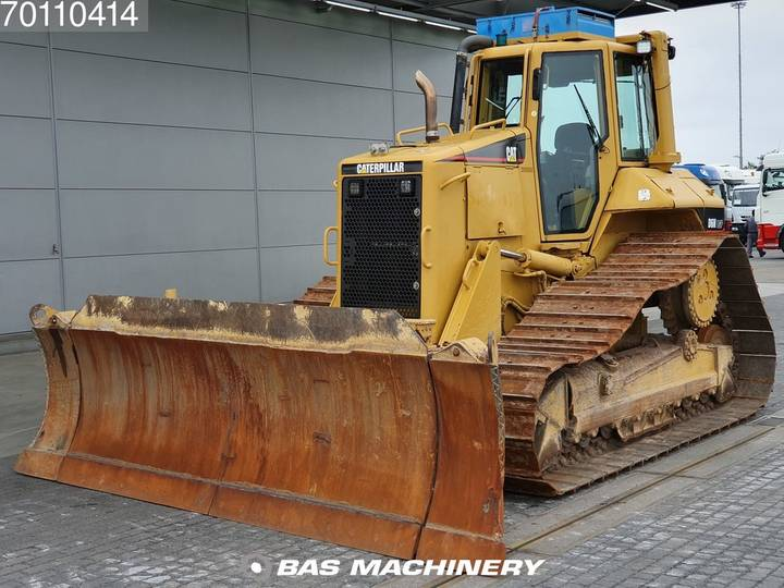 Caterpillar D6N LGP German dealer machine - Foldable blade!! - 2005