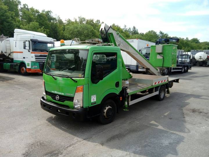 Nissan CABSTAR 35.11 WITH MULTITEL LIFT 160ALU/DS - 16 m - 2008