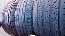 Set of 245/45/20 perilli scorpion All season Tyres for sell