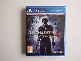 Uncharted 4: A Thief's End on PS4 in NEAR MINT Condition R400