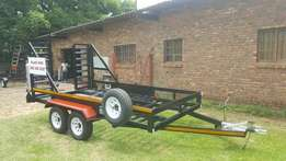 Double axle bobcat