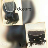 Frontal & closure