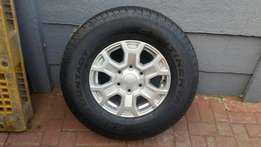 ford ranger mags with tyres brand new