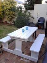 picnic and patio tables