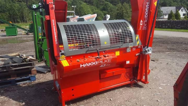 Hakki Pilke 43 Pro Firewood Processor - 2018