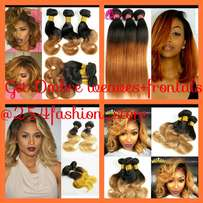 Human weaves +frontals