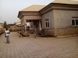 4bedroom fully detached Bungalow with a room BQ for sale at Lifecamp