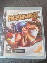 PS3 Games - Face Breaker