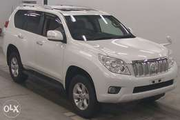 for sale toyota prado 2010 model petrol with sunroof