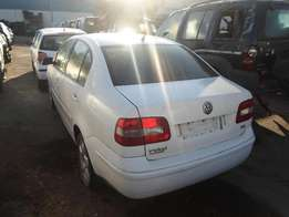 2003 VOLKSWAGEN POLO 1.4 TDI SEDAN Breaking for Spares.