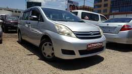Toyota Isis , Silver,