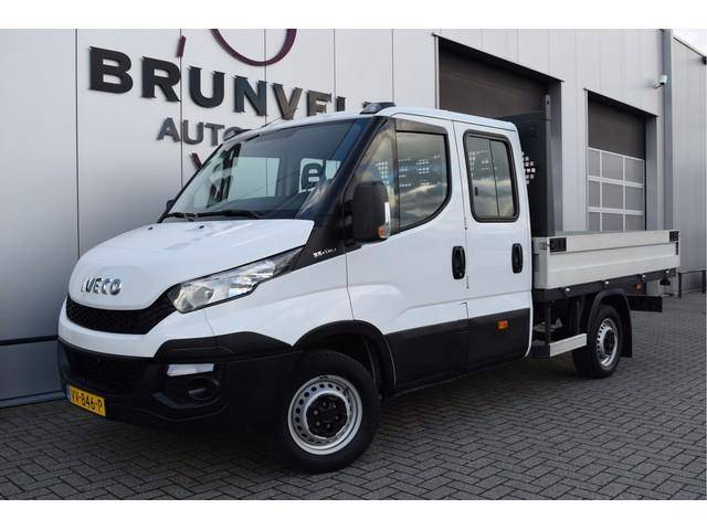 Iveco Daily 35S13 126pk, 7 Persoons Dubbele Cabine, Trek - 2016