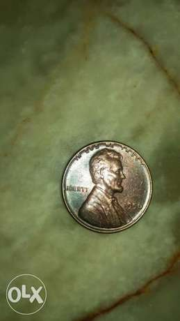 USA Penny One Lincoln Wheat Cent year 1956