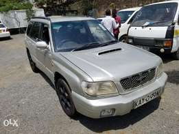 SUBARU Forester Turbo charged, very clean. Buy and drive