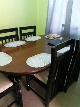 Dining Table With 6chairs In K