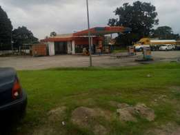 Functional filling station on 8 plots by Aba portharcourt road