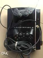 PlayStation 3, with three games installed