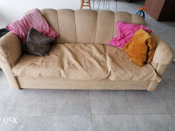 beige couch, sofa صوفا