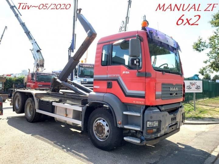 MAN 28.410 - 6x2 - HAAKSYSTEEM / AMPLIROL / ABROLLKIPPER / - 2005