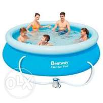 Awesome inflatable Swimming Pools 244cm x 76 cm deep