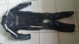 Assault full leathers. Kangaroo leather