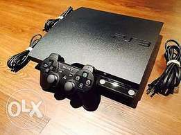 Sony PlayStation 3 Slim 3001A 160GB Charcoal Black Console