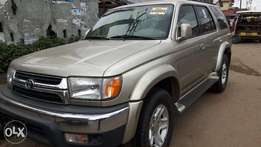 Tokunbo Clean Toyota 4Runner Sliver For Sale