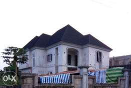 Standard four bedroom duplex for sale at rupokwu Sars road