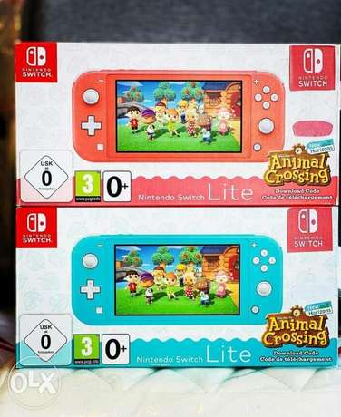 Nintendo switch lite special edition available now