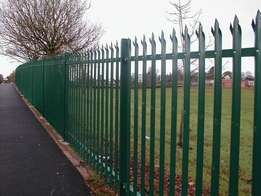 We do sliding gates, palisade fencing, carpots etc