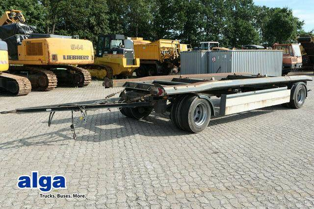 Schmitz Cargobull ACF 20 AR, Abrollaufbau, Zwillingsbereifung - 2011