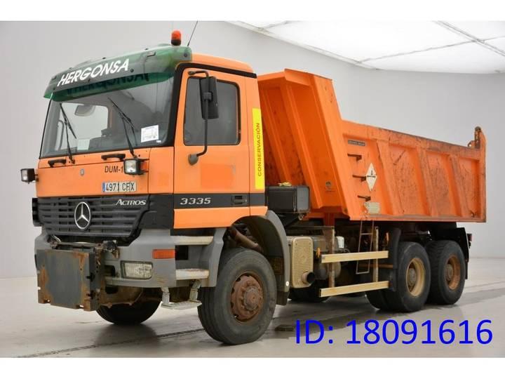 Mercedes-Benz Actros 3335AK - 6x6 - 2003