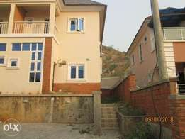 Newly built and tastefully finished 2-bedroom Semi-detached duplex