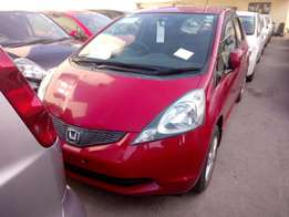 2010 model Honda fit Blood Red KCN fully loaded