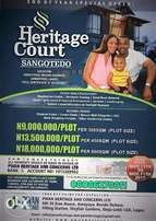 Heritage Court Estate, Sangotedo (Buy & Build)