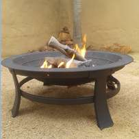 Outdoor gas fire pit - new and complete