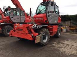 Manitou MRT2150 Rotational Telehandler with 21m reach and 5ton lift