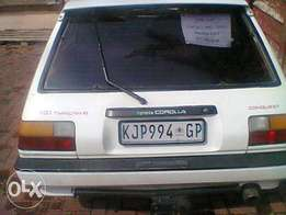 Toyota conquest rsi twincam 16 valve for sale urgently