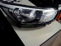 Hyundai Accent new shape headlight
